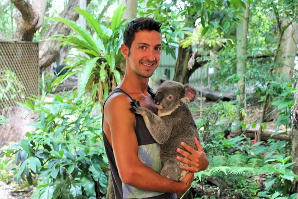 Riccardo in Australia
