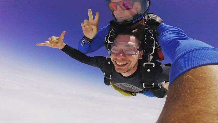 Umberto e lo skydive