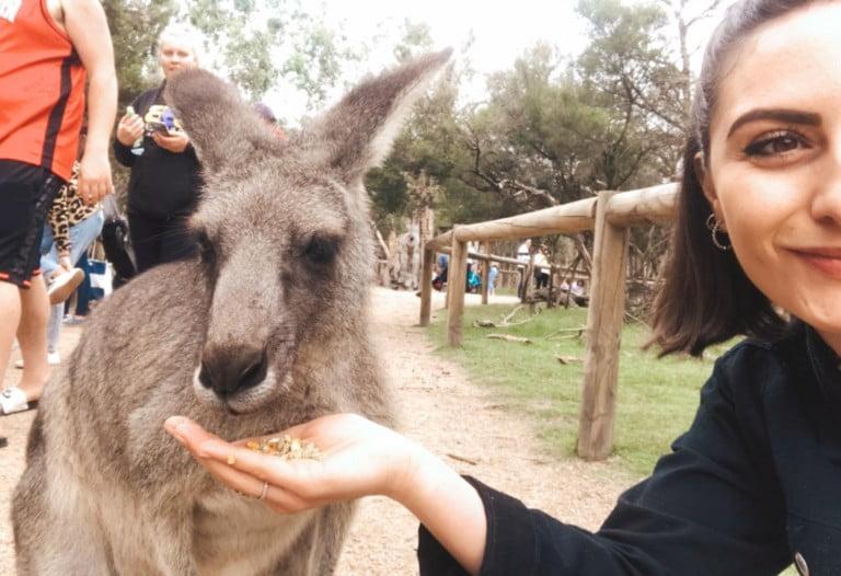 Laura, in Australia ai tempi del Covid-19